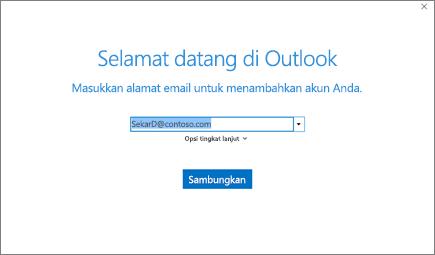 Selamat datang di Outlook