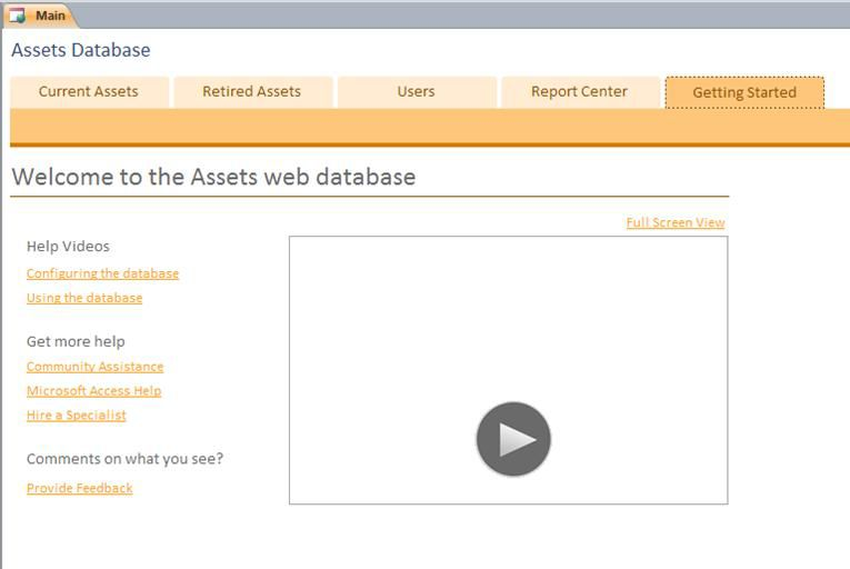 Database Web Aset