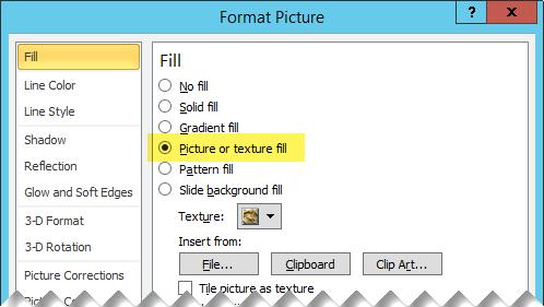Kotak dialog Format Gambar