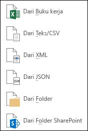 Mendapatkan data dari File