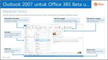 Gambar mini untuk panduan beralih dari Outlook 2007 ke Office 365