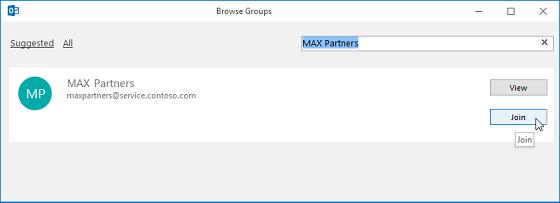 Mencari sebuah grup