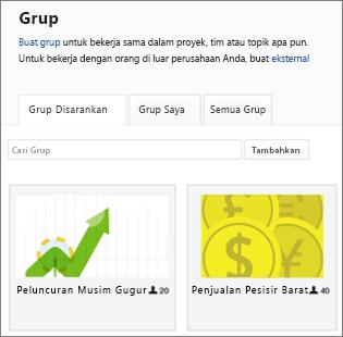 Daftar grup