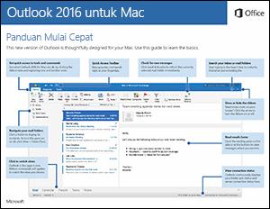 Panduan Mulai Cepat Outlook 2016 untuk Mac