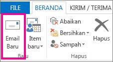 Perintah Email baru