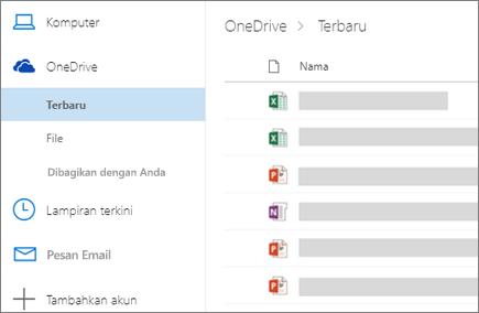 Berbagi file di Outlook di web