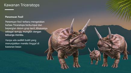 Cuplikan layar sampul templat 3D PowerPoint