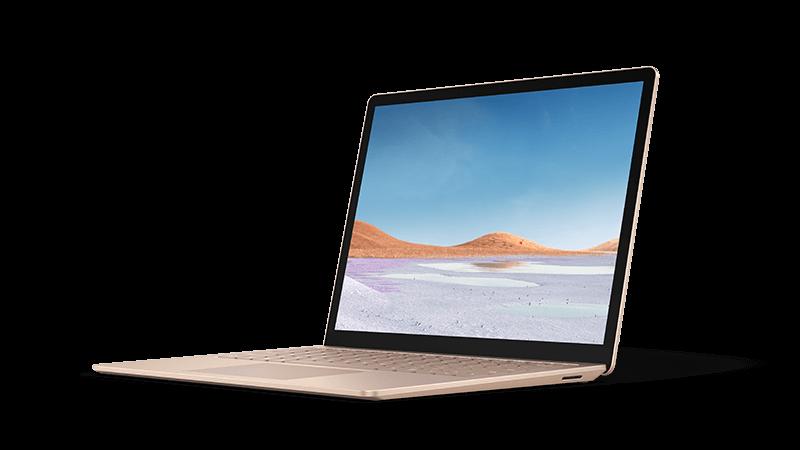 Foto perangkat laptop permukaan 3