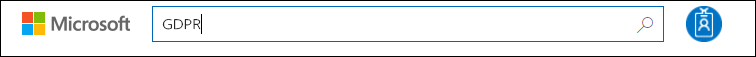 Input pencarian STP, istilah GDPR pencarian