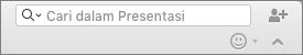Pencarian dalam kotak Presentasi
