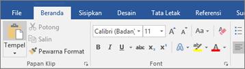 Klik tab File