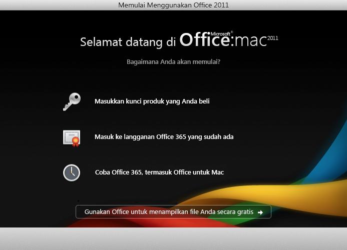 Masuk ke langganan Office 365 yang sudah ada
