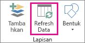 Refresh Data pada tab Beranda