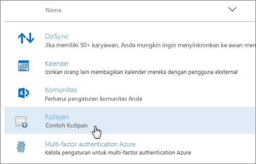 Add-in yang disebarkan pusat admin Office 365