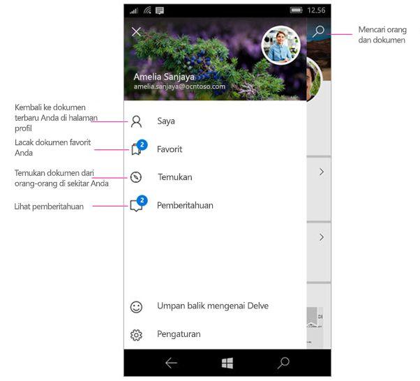 Delve untuk Windows Mobile