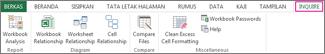 Tab Pemeriksaan di Excel