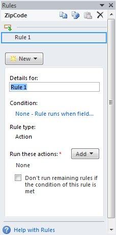 Tambahkan aturan untuk melakukan tindakan lainnya