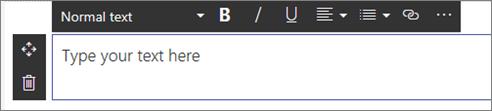 Komponen web teks