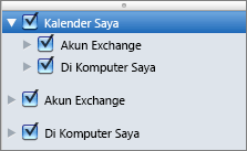 Grup Kalender Saya Outlook 2016 Mac