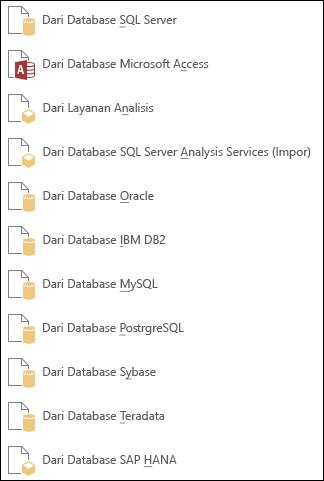 Mendapatkan data dari Database