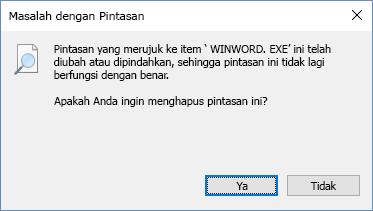 Cuplikan layar kotak dialog