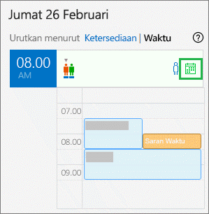 Kalender penyelenggara
