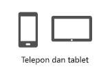 Ponsel dan tablet