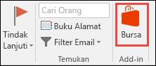 Simpan tombol di Outlook