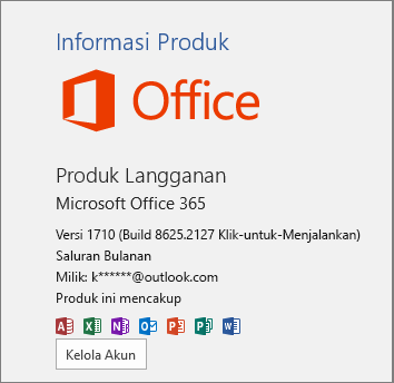 Build Office 365 reguler