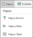 Menu Hapus Android