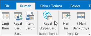 Menjadwalkan Rapat di Skype for Business