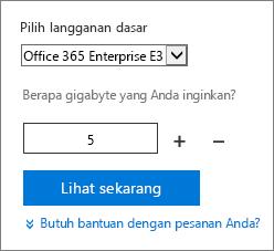 Ubah jumlah lisensi pengguna untuk add-on.