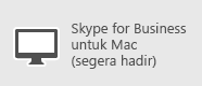 Skype for Business - Mac