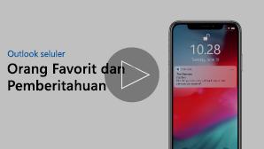 Gambar mini untuk orang favorit dan video pemberitahuan-klik untuk memutar