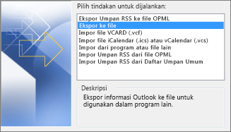 Ekspor File