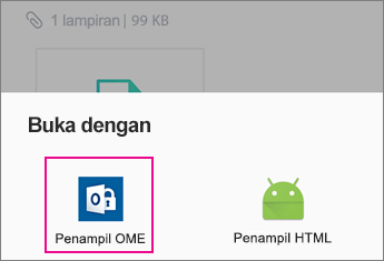 OME Viewer dengan Yahoo Mail di Android 2