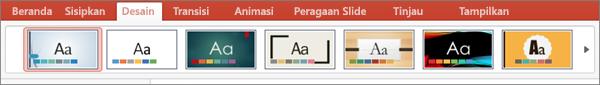 Tema PPT untuk Mac