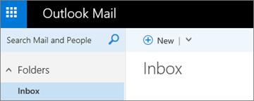 Tampilan pita Outlook.com baru