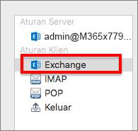 Aturan klien Exchange