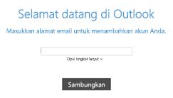 Tambahkan akun email baru