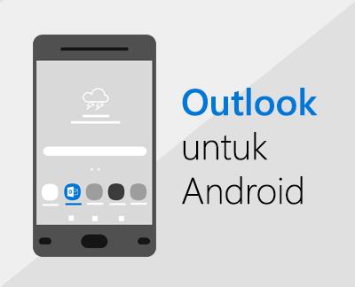 Klik untuk menyiapkan Outlook untuk Android