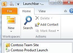 Satu ruang kerja SharePoint yang ditandai dengan ikon kesalahan sinkronisasi