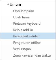 Umum > Perangkat Seluler