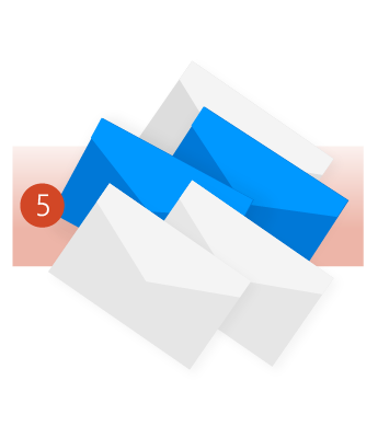 Gunakan Hapus Folder untuk menghapus pesan berlebih yang tidak diperlukan.