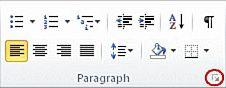 Peluncur Kotak Dialog Paragraf