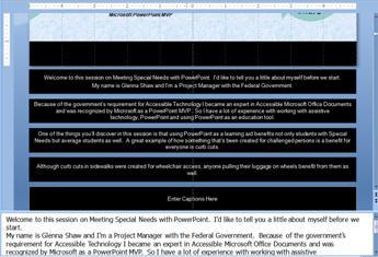 Master slide dengan teks dalam tempat penampung keterangan