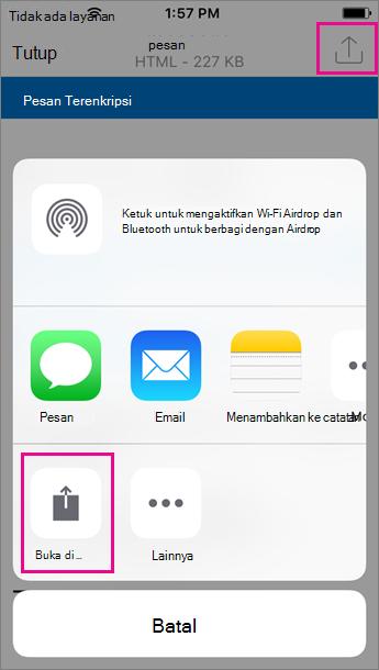 OME Viewer untuk Outlook untuk iOS 2
