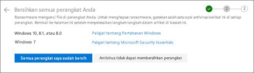 Cuplikan layar bersih semua perangkat layar pada situs web OneDrive