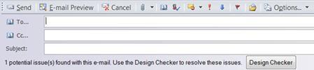 Mengirim publikasi sebagai email di Publisher 2010