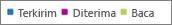 Laporan Office 365 - filter bagan untuk data terkait tertentu